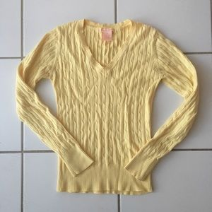 Long Sleeve V - Neck Sweater